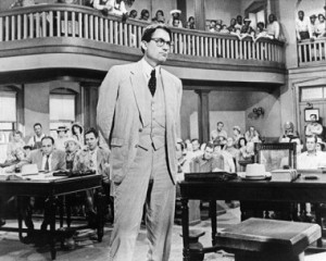 Will we look at Gregory Peck's Atticus Finch the same way ever again?  (Courtesy of movieposter.com)