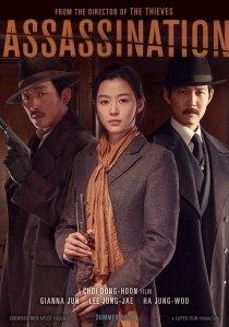 """Movie poster for the Korean film """"Assassination."""""""
