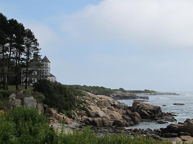 A house near the Marie Joseph Spiritual Center in Biddeford, Maine, on Aug. 26, 2015.