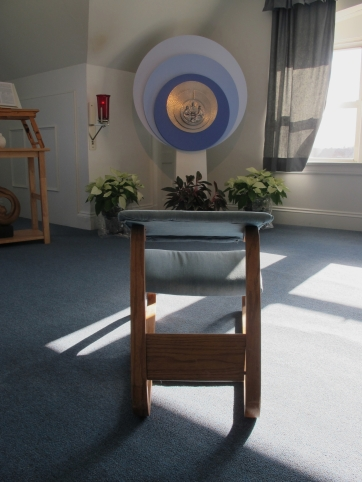 Prayer room at the Miramar Retreat Center.
