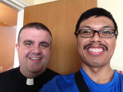 Father James Kuroly and I graduated from St. Anthony of Padua School in 1994.