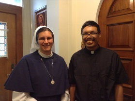 I visited Sister Mariana Benedicta at the Sisters of Life convent in the Upper East Side in N.Y. on Aug. 28, 2017.