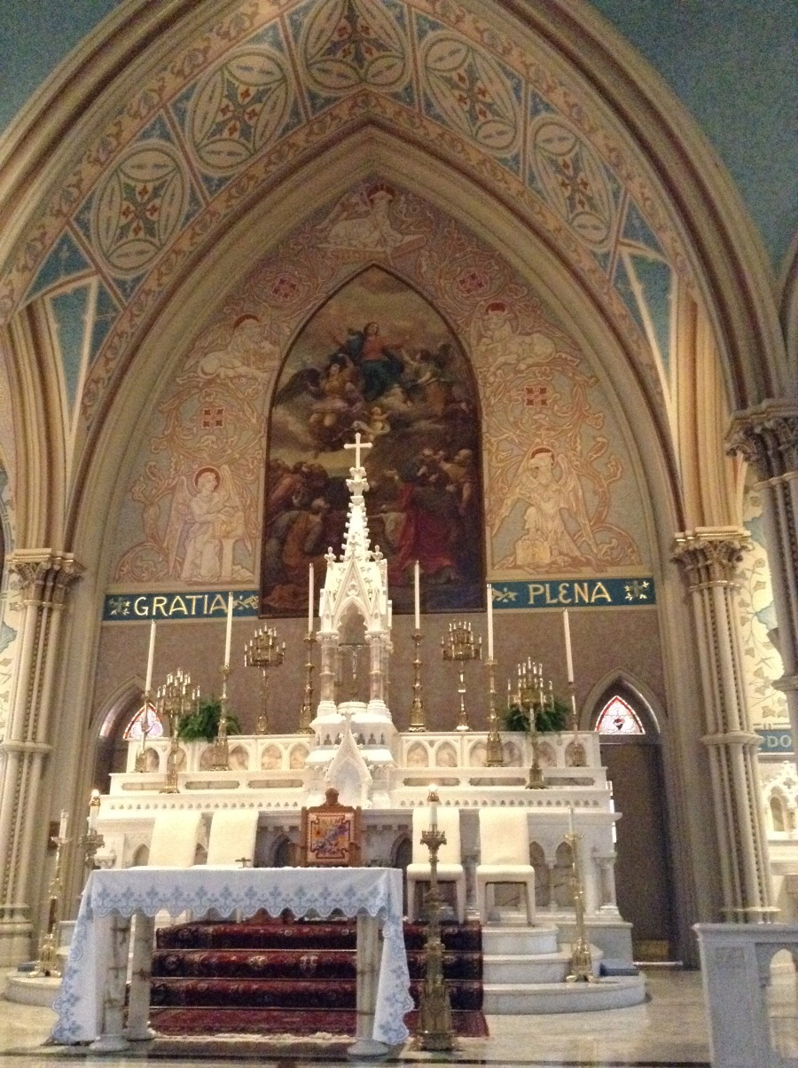 st mary altar
