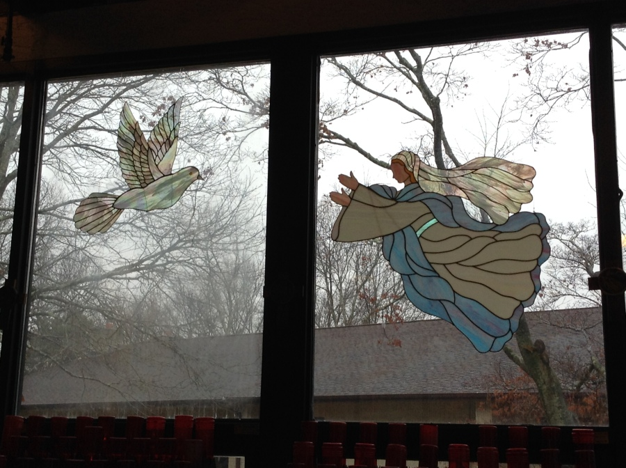 Marian window art