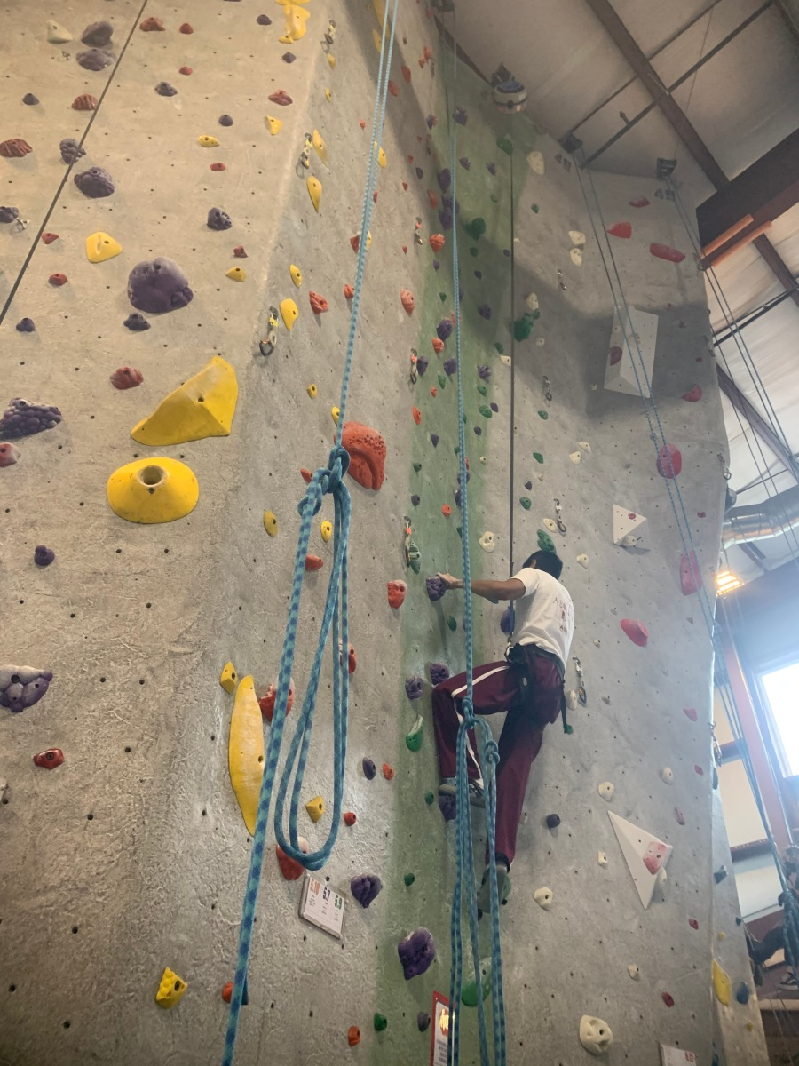 rock climbing 2020